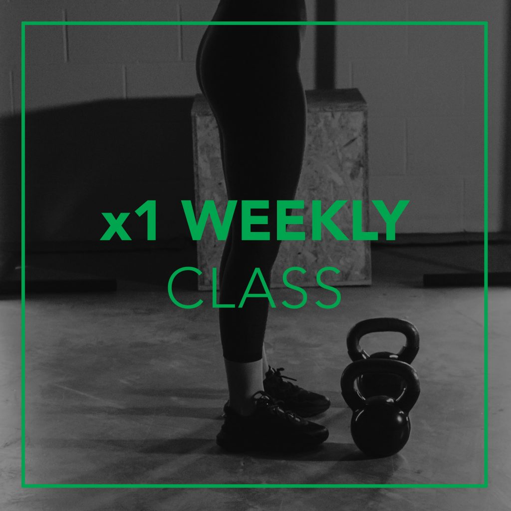 weekly fitness class