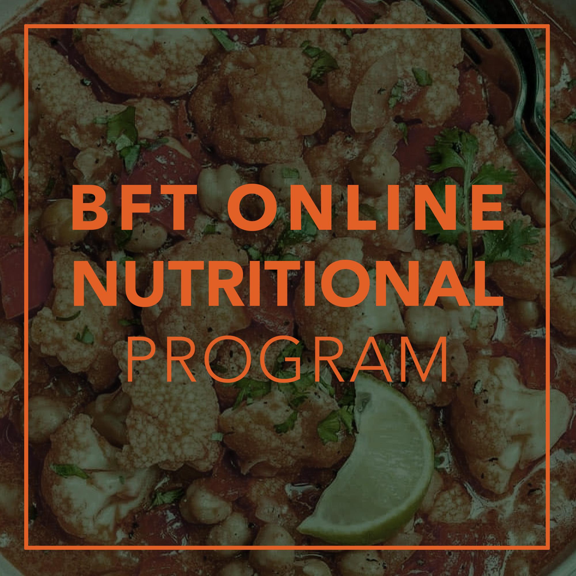 online nutritional coaching